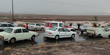 آمادهباش بارانی تیمهای امدادی خراسانجنوبی