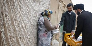 افطاری ساده جهادیها به نیت امیرالمومنین برای نیازمندان