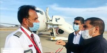 فرود اضطراری هواپیمای بویینگ ٧٣٧ هندوستان در فرودگاه زاهدان