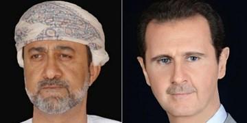 سلطان عمان سالروز خروج اشغالگران فرانسوی از سوریه را به  اسد تبریک گفت
