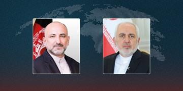 گفتوگوی تلفنی اتمر و ظریف؛ قدردانی افغانستان از نقش موثر ایران در روند صلح
