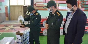 توزیع ۱۴۰ سری جهیزیه ویژه اقشار آسیبپذیر با حضور فرمانده سپاه نینوا گلستان