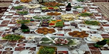 خوراکیهای مردم استان مرکزی در ماه رمضان