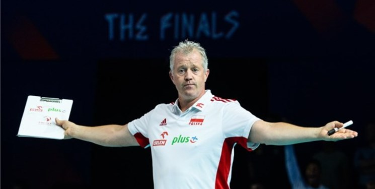 المپیک توکیو|واکنش جالب سرمربی لهستان/هینن: سورپرایز نشدم