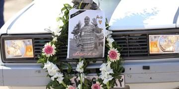 گزارش تصویری از مراسم تشییع و خاکسپاری نادر دست نشان در قائمشهر