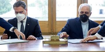 دیدار وزیر امور خارجه صربستان با ظریف