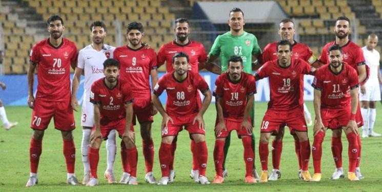 لیگ قهرمانان آسیا| پرسپولیس یکه و تنها در صدر جدول گروه E