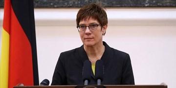 انتقاد تند وزیر دفاع آلمان از روسیه