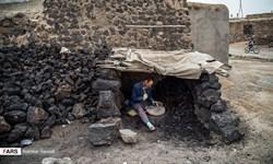 فیلم/تولید «سنگ پا» در «روستای طلا»/ استفاده عراقیها از تولیدات «قزلجهکند»