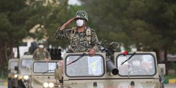 ارتش مدال خدمتگزاری و دفاع از تمامیت ارضی کشور را در خود دارد
