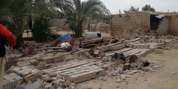 ۱۰ روستای گناوه از زلزله آسیب دیدند/ وقوع ۱۰ پس لرزه+تصاویر اولیه