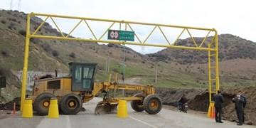 انسداد جاده هراز تا ساعت ۱۷ امروز/ترافیک سنگین در آزادراه قزوین-کرج-تهران