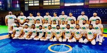 برگزاری اردوی تیم ملی کشتی «آلیش کلاسیک» ایران در لارستان
