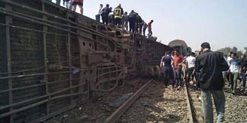 ۸ کشته و بیش از ۱۰۰ زخمی در واژگونی قطار در مصر