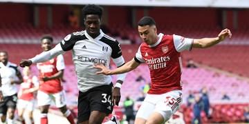 لیگ برتر انگلیس|آرسنال دقیقه 7+90 از شکست گریخت