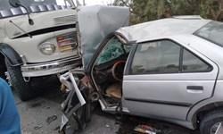تصادف زنجیرهای ۴ خودرو در محور ریگان – ایرانشهر با ۸ مجروح