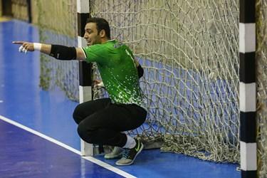 سپهر محمدي دروازه بان تیم فوتسال گیتی پسند