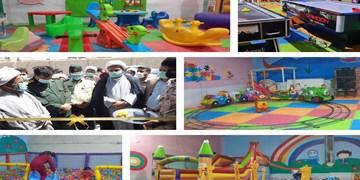 افتتاح شهربازی و خانه کودک به همت خیران در هیرمند