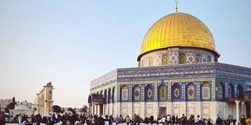 تشرف مردم فلسطین به مسجدالاقصی در بین تدابیر امنیتی رژیم صهیونیستی+فیلم