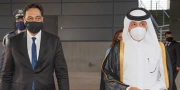 دیدار نخستوزیر دولت پیشبرد امور لبنان با مقامات قطر