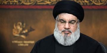 پیام تسلیت «سید حسن نصرالله» به رهبر انقلاب