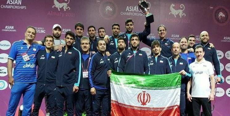 افتخارآفرینی استاد دانشگاه تبریز در تیم قهرمانی کشتی آسیا