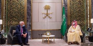 دیدار فرستاده نخستوزیر انگلیس با محمد بن سلمان