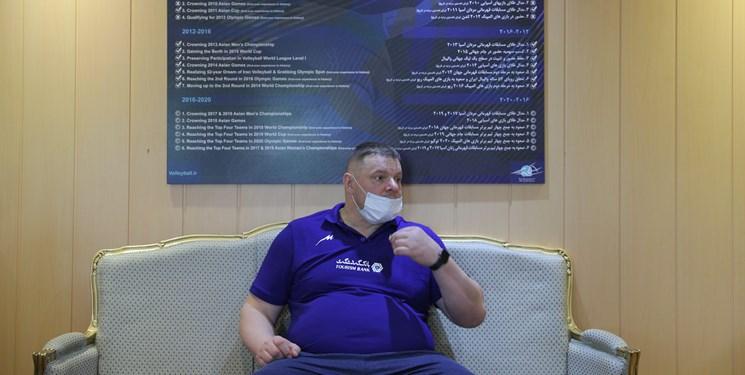 بروزسانی | آلکنو: مربی که نتیجه را ضمانت کند شارلاتان است / ایران از هیچ تیمی ترس ندارد