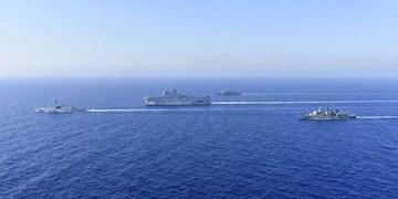 ادعای آنکارا در خصوص بیرون راندن کشتیهای فرانسه و یونان از فلات قاره ترکیه
