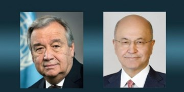 تأکید صالح بر هماهنگی با سازمان ملل برای نظارت بر انتخابات عراق