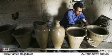 خاک را به هنر کیمیا میکنند / دهکده هنر کوزهگری ایران