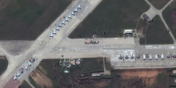 تصاویر ماهوارهای از ساز و برگ نظامی روسیه در مرز اوکراین