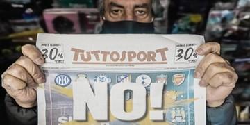 شادی مفرط مطبوعات اروپا از شکست سوپرلیگ/ روز پیروزی فوتبال و بازی مردم!+تصاویر