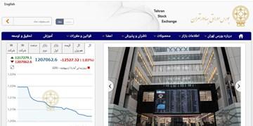 کاهش 12 هزار و 527 واحدی شاخص بورس تهران