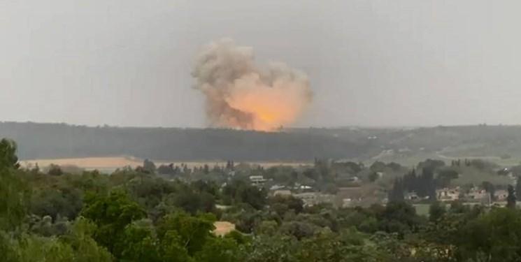 انفجار مهیب در یک کارخانه امنیتی حساس در مرکز فلسطین اشغالی