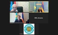 برگزاری مشاورههای سیاسی قزاقستان و ارمنستان به صورت مجازی