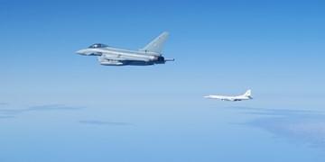 تقابل بلکجکهای روسیه با جنگندههای اف-16 ناتو بر فراز دریای سیاه