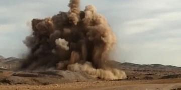 صدای انفجارهای امروز پرند به خاطر عملیات عمرانی بود+فیلم