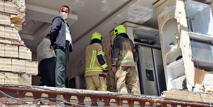نجات ۷ نفر در انفجار یک آپارتمان مسکونی در مشهد