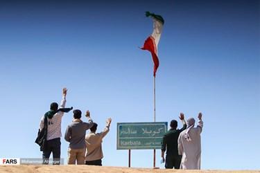همزمان با تحویل سال نو به علت شیوع ویروس کرونا و لغو سفرهای زیارتی راهیان نور، یادمان «شلمچه» میزبان تعداد کمی از زائران خرمشهری در نوروز 1400 است.
