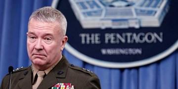 فرمانده تروریستهای سنتکام: در حال حاضر خروج از عراق را پیشبینی نمیکنیم