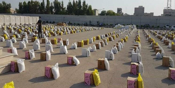 سپاه هفت هزار بسته مهر درب خانه محرومان خوزستان فرستاد
