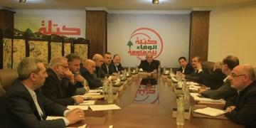 فراکسیون حزب الله: مقاومت متعهد به نقش خود در دفاع از مرزهای لبنان است
