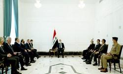 دیدار الکاظمی و معاون نخست وزیر روسیه و تاکید بر تقویت همکاریهای فیمابین