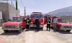 اختصاص 2 دستگاه خودروی آتش نشانی به شهرداری قلعه رئیسی
