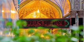 شب وفات حضرت خدیجه در کربلا/ سفرههای افطاری در بینالحرمین پهن شد+ فیلم