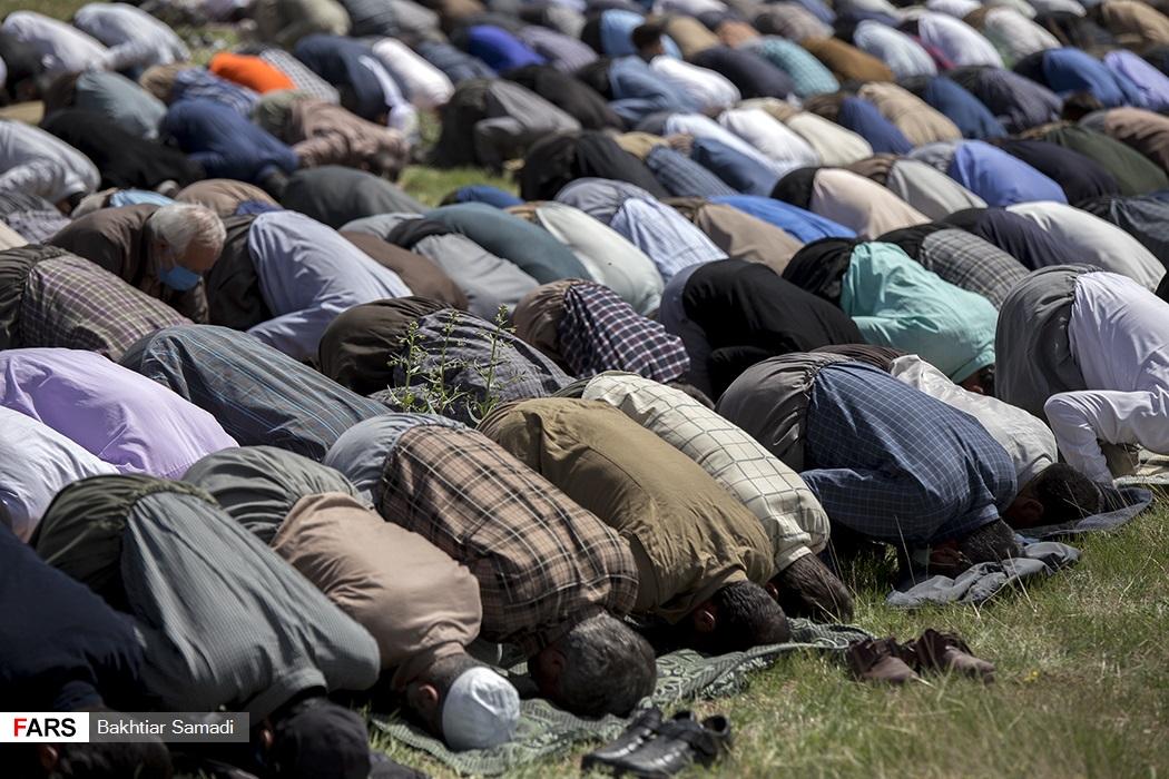 اقامه نماز باران  در سنندج