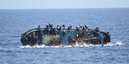 50 مهاجر در مجاورت سواحل لیبی غرق شدند