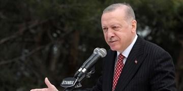 اردوغان: از حق فلسطین در دفاع از قدس برابر تروریسم اسرائیل دفاع میکنم
