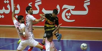 لیگ برتر فوتسال؛ شکست کراپ الوند در برابر نماینده اصفهان